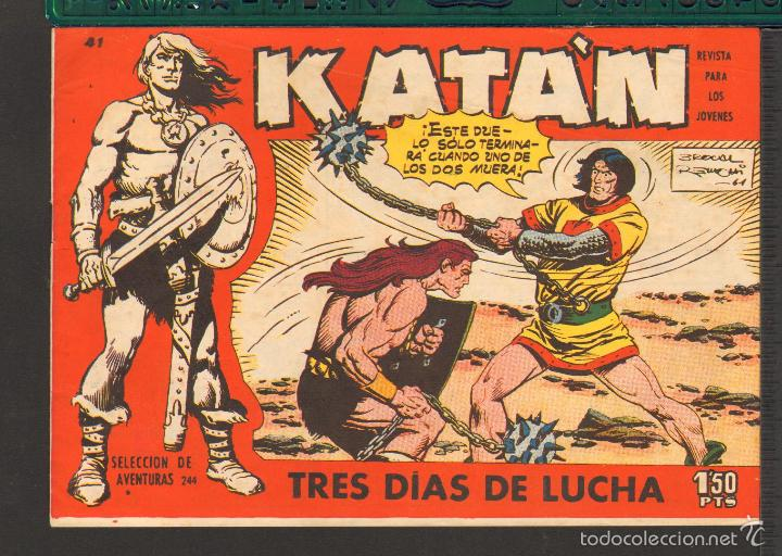 Tebeos: TEBEOS-COMICS CANDY - KATAN - COMPLETA - 48 EJ - BROCAL REMOHI - TORAY 1960 - Oferta *BB99 - Foto 41 - 57810260