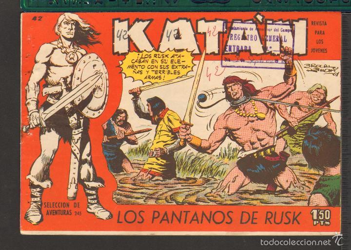 Tebeos: TEBEOS-COMICS CANDY - KATAN - COMPLETA - 48 EJ - BROCAL REMOHI - TORAY 1960 - Oferta *BB99 - Foto 42 - 57810260