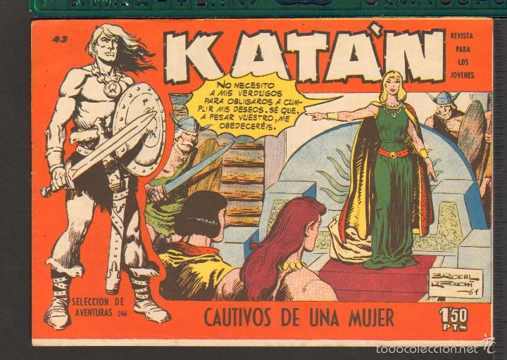 Tebeos: TEBEOS-COMICS CANDY - KATAN - COMPLETA - 48 EJ - BROCAL REMOHI - TORAY 1960 - Oferta *BB99 - Foto 43 - 57810260