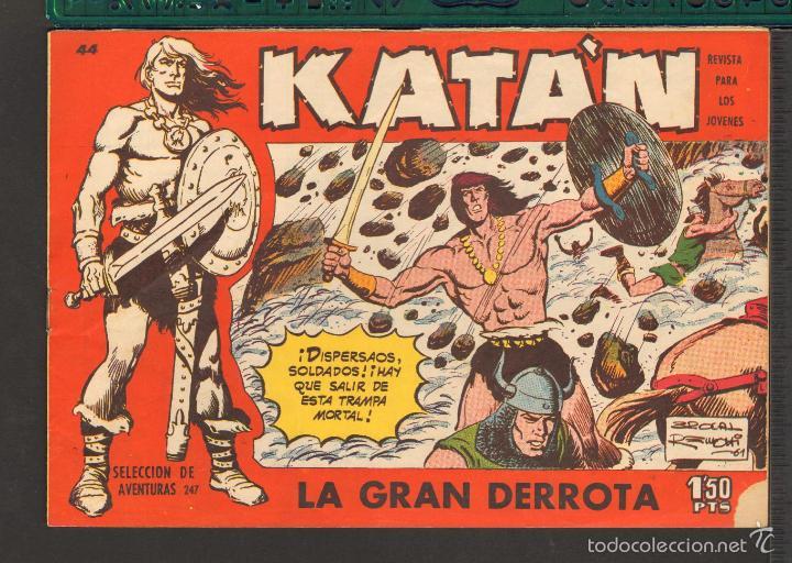 Tebeos: TEBEOS-COMICS CANDY - KATAN - COMPLETA - 48 EJ - BROCAL REMOHI - TORAY 1960 - Oferta *BB99 - Foto 44 - 57810260