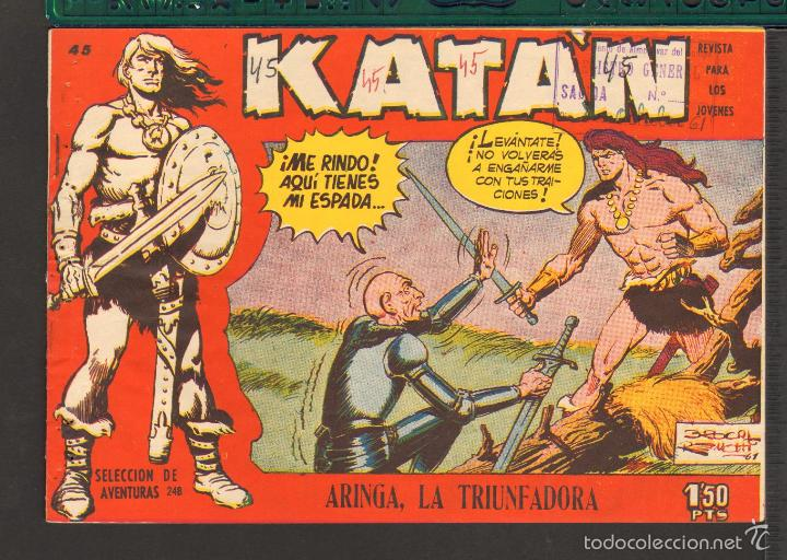 Tebeos: TEBEOS-COMICS CANDY - KATAN - COMPLETA - 48 EJ - BROCAL REMOHI - TORAY 1960 - Oferta *BB99 - Foto 45 - 57810260