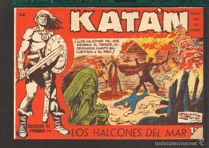 Tebeos: TEBEOS-COMICS CANDY - KATAN - COMPLETA - 48 EJ - BROCAL REMOHI - TORAY 1960 - Oferta *BB99 - Foto 46 - 57810260