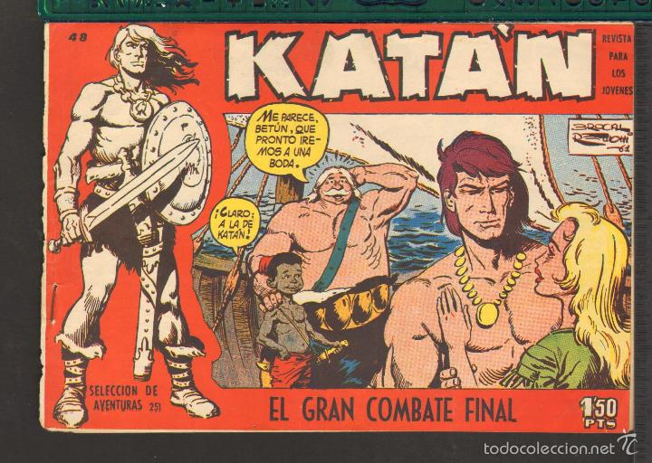 Tebeos: TEBEOS-COMICS CANDY - KATAN - COMPLETA - 48 EJ - BROCAL REMOHI - TORAY 1960 - Oferta *BB99 - Foto 48 - 57810260