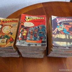 Tebeos: SUPERMAN - LOTE 338 NÚMEROS + 8 EXTRAS + 1 TOMO ENCUADERNADO (EDICIONES RECREATIVAS / NOVARO). Lote 57891309
