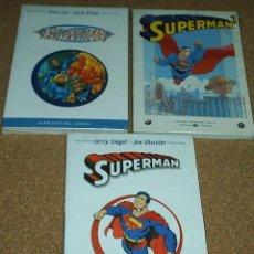 Tebeos: LOTE 3 TACOS-SUPERMAN Nº 1, HEROES DEL COMIC-LOS CUATRO FANTASTICOS -IMPORTANTE LEER TODO. Lote 144098272