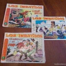 Tebeos: LOS IMBATIDOS - LOTE DE 3 NÚMEROS (EDITORIAL MAGA). Lote 58264801