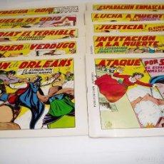 Tebeos: COMICS, ESPADACHÍN ENMASCARADO COLECCIÓN DE 80 COMICS. Nº1 HASTA EL Nº 80. AÑO 1981. Lote 58368765