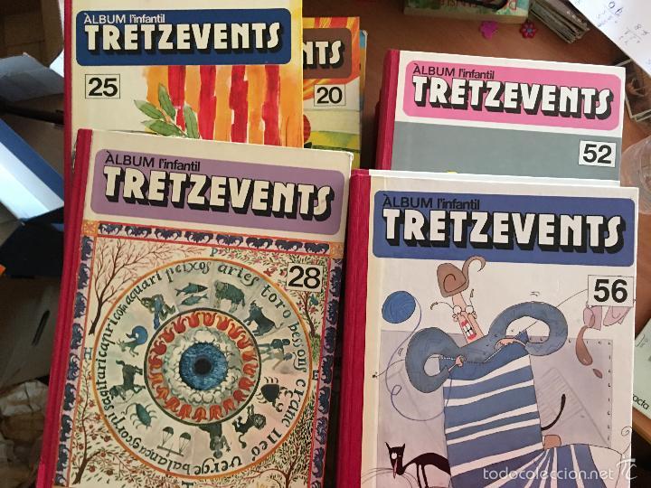 L'INFANTIL TRETZEVENTS. LOTE MÁS DE 200 EJEMPLARES EN 20 TOMOS. CATALAN. ASTERIX, LUCKY LUKE (LB31) (Tebeos y Comics - Tebeos Colecciones y Lotes Avanzados)