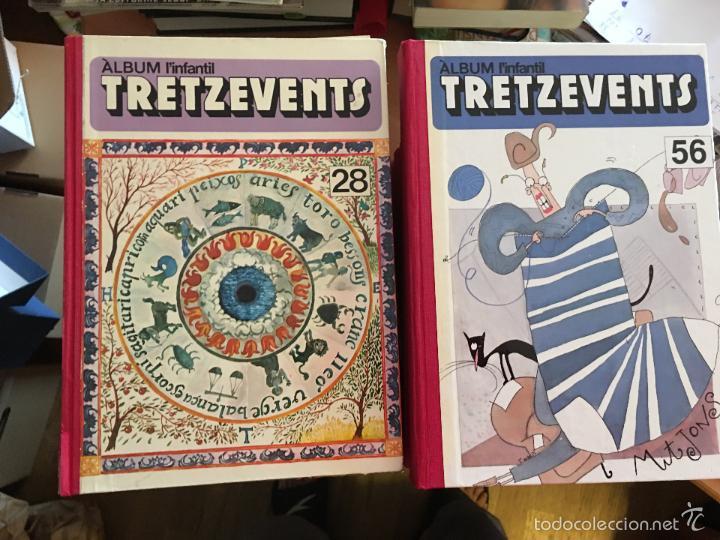 Tebeos: LINFANTIL TRETZEVENTS. LOTE MÁS DE 200 EJEMPLARES EN 20 TOMOS. CATALAN. ASTERIX, LUCKY LUKE (LB31) - Foto 3 - 58514797