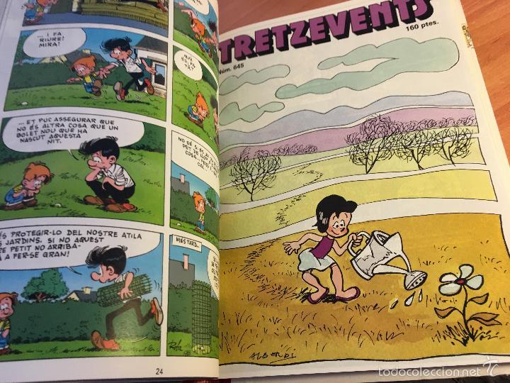 Tebeos: LINFANTIL TRETZEVENTS. LOTE MÁS DE 200 EJEMPLARES EN 20 TOMOS. CATALAN. ASTERIX, LUCKY LUKE (LB31) - Foto 61 - 58514797