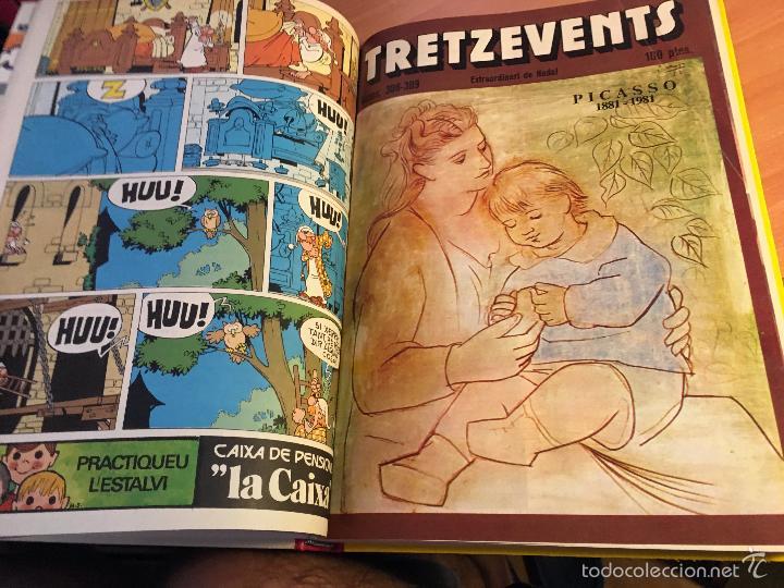 Tebeos: LINFANTIL TRETZEVENTS. LOTE MÁS DE 200 EJEMPLARES EN 20 TOMOS. CATALAN. ASTERIX, LUCKY LUKE (LB31) - Foto 149 - 58514797