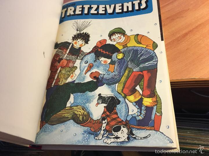 Tebeos: LINFANTIL TRETZEVENTS. LOTE MÁS DE 200 EJEMPLARES EN 20 TOMOS. CATALAN. ASTERIX, LUCKY LUKE (LB31) - Foto 227 - 58514797