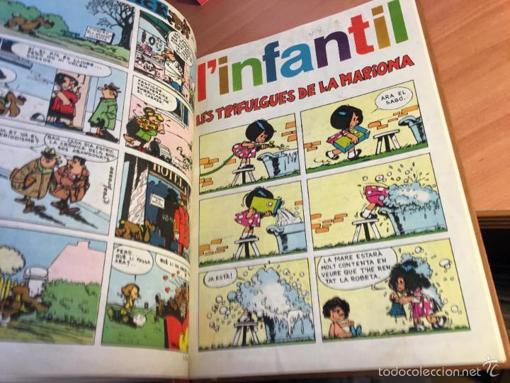 Tebeos: LINFANTIL TRETZEVENTS. LOTE MÁS DE 200 EJEMPLARES EN 20 TOMOS. CATALAN. ASTERIX, LUCKY LUKE (LB31) - Foto 342 - 58514797
