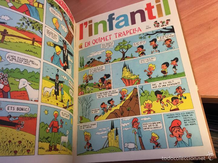 Tebeos: LINFANTIL TRETZEVENTS. LOTE MÁS DE 200 EJEMPLARES EN 20 TOMOS. CATALAN. ASTERIX, LUCKY LUKE (LB31) - Foto 343 - 58514797