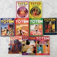 Tebeos: TOTEM - LOTE DE 5 TOMOS ANTOLOGÍA + NºS 4-41 + 2 TOMOS RECOPILATORIOS (22 CÓMICS EN TOTAL). Lote 58549063