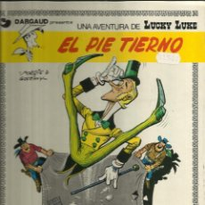 Tebeos: LUCKY LUKE EL PIE TIERNO. Lote 58624353