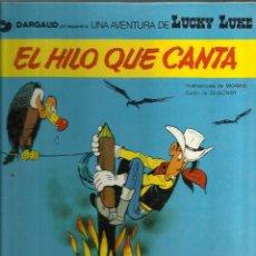 Tebeos: LUCKY LUKE EL HILO QUE CANTA. Lote 58624361