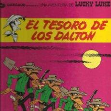 Tebeos: LUCKY LUKE EL TESORO DE LOS DALTON. Lote 58624373