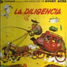 Tebeos: LUCKY LUKE LA DILIGENCIA Nº24. Lote 58624397