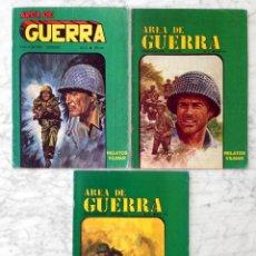 Tebeos: AREA DE GUERRA - LOTE DE 3 CÓMICS - NºS 2-3-6 - VILMAR - 1985. Lote 58791991
