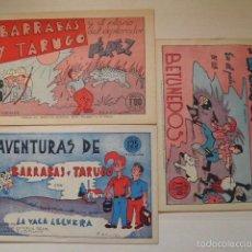 Tebeos: COLECCION DE BARRABAS Y TARUGO. Lote 92997077