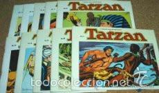 TARZAN ( EDGAR RICE BURROUGHS & RUSS MANNING ) COLECCION COMPLETA, 10 LIBROS APAISADOS (Tebeos y Comics - Tebeos Colecciones y Lotes Avanzados)