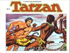 Tebeos: TARZAN ( EDGAR RICE BURROUGHS & RUSS MANNING ) COLECCION COMPLETA, 10 LIBROS APAISADOS - Foto 2 - 60798427