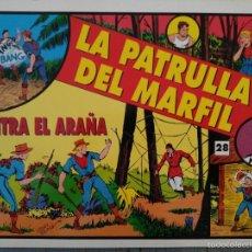 Tebeos: LA PATRULLA DEL MARFIL - Nº 20 AL 55 - COLECCIÓN COMPLETA, REEDICIÓN. Lote 60869579