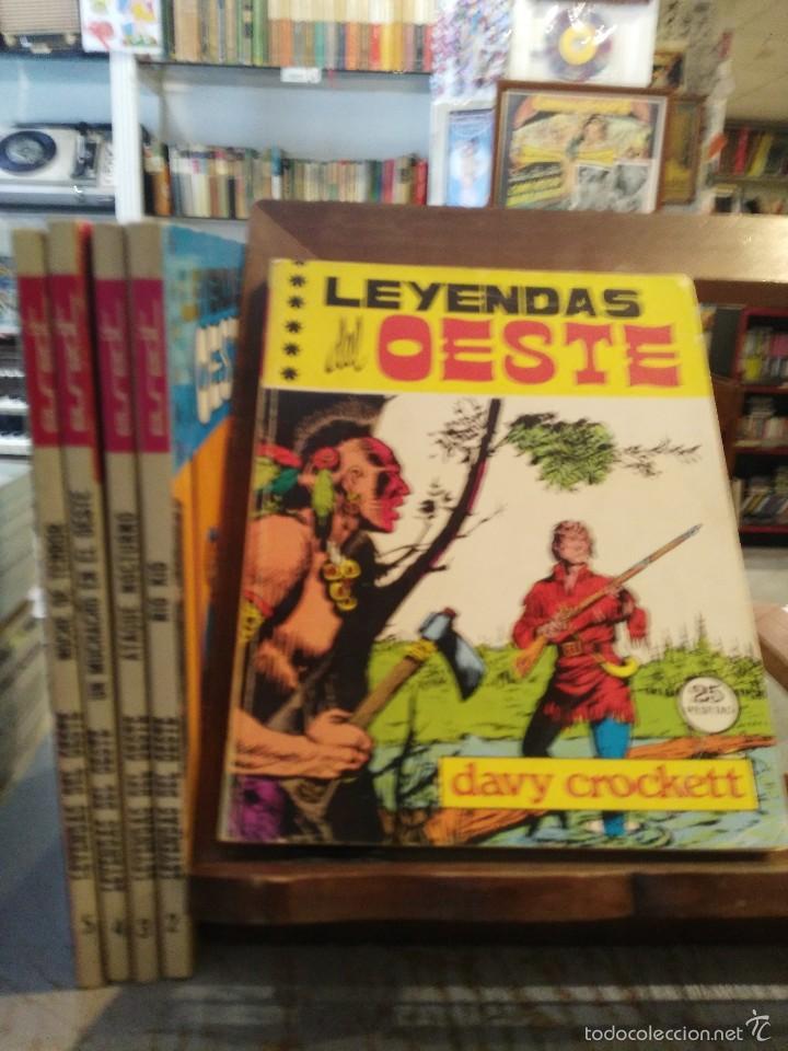 Tebeos: Leyendas del Oeste - 5 números - Colección Completa - Ed. Euredit 1970 - Foto 2 - 60871407