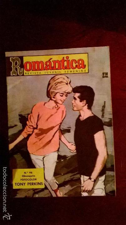 COMICS.ROMÁNTICA. ANTIGUO .13 NUMEROS,HAY TRES EXTRAS (Tebeos y Comics - Tebeos Pequeños Lotes de Conjunto)