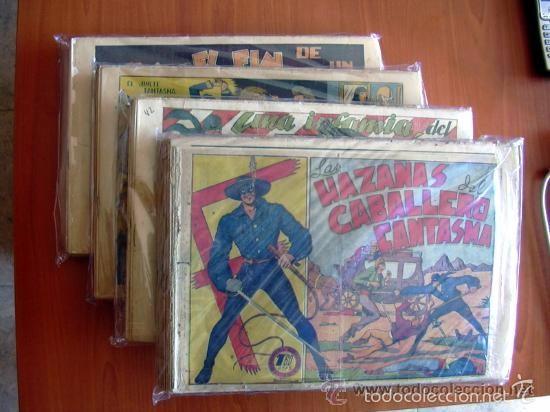 EL JINETE FANTASMA COMPLETA - 164 EJEMPLARES - ORIGINAL - EDITORIAL GRAFIDEA 1947 (Tebeos y Comics - Tebeos Colecciones y Lotes Avanzados)