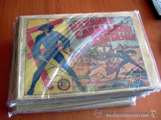 Tebeos: El Jinete Fantasma COMPLETA - 164 ejemplares - ORIGINAL - Editorial Grafidea 1947 - Foto 2 - 61176879