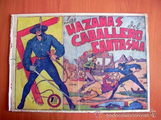 Tebeos: El Jinete Fantasma COMPLETA - 164 ejemplares - ORIGINAL - Editorial Grafidea 1947 - Foto 3 - 61176879