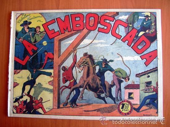 Tebeos: El Jinete Fantasma COMPLETA - 164 ejemplares - ORIGINAL - Editorial Grafidea 1947 - Foto 4 - 61176879