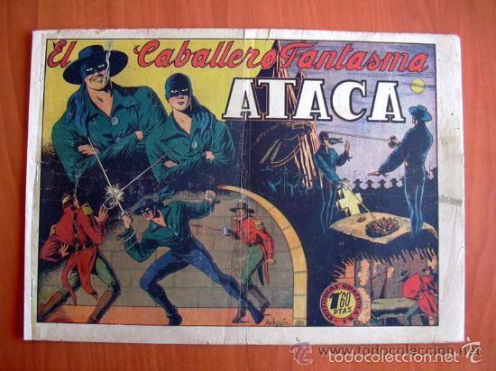 Tebeos: El Jinete Fantasma COMPLETA - 164 ejemplares - ORIGINAL - Editorial Grafidea 1947 - Foto 5 - 61176879