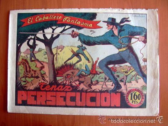 Tebeos: El Jinete Fantasma COMPLETA - 164 ejemplares - ORIGINAL - Editorial Grafidea 1947 - Foto 6 - 61176879