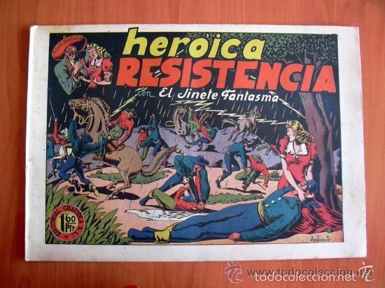 Tebeos: El Jinete Fantasma COMPLETA - 164 ejemplares - ORIGINAL - Editorial Grafidea 1947 - Foto 7 - 61176879