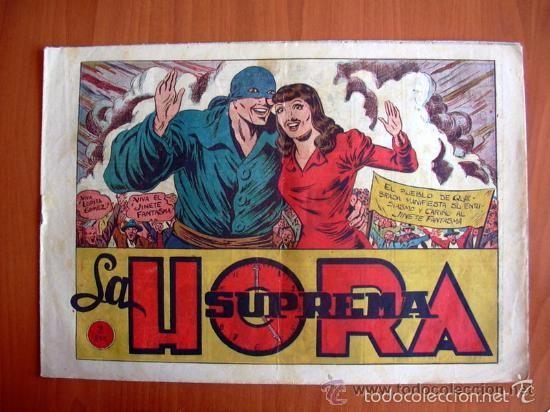 Tebeos: El Jinete Fantasma COMPLETA - 164 ejemplares - ORIGINAL - Editorial Grafidea 1947 - Foto 8 - 61176879
