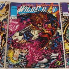Giornalini: WILD C.A.T.S Nº 1. VOLUMEN 1. LOTE DE 3 COMICS. JIM LEE. IMAGE, WORLD COMICS.. Lote 61210671