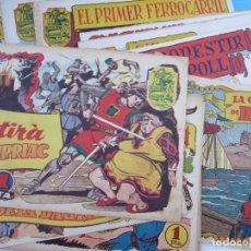 Tebeos: COLECCION DE 28 NUMEROS COMPLETA , HISTORIA I LLEGENDA ,EN CATALAN , HISPANO AMERICANA 1956. Lote 61474799
