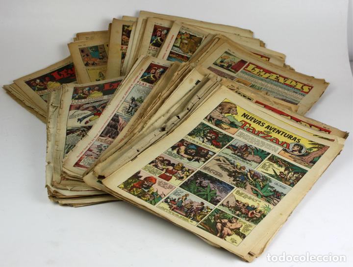 8011 - REVISTA COMIC LEYENDAS. 171 EJEMPLARES. (VER DESCRIPCIÓN). EDI. H. A. AÑOS 40. (Tebeos y Comics - Tebeos Colecciones y Lotes Avanzados)