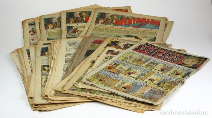 8022 - LOTE DE VARIOS COMICS Y EDITORIALES. (VER DESCRIPCIÓN). VV. AA. AÑOS 30-40. (Tebeos y Comics - Tebeos Colecciones y Lotes Avanzados)