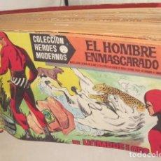 Tebeos: TOMO TEBEOS ORIGINALES EL HOMBRE ENMASCARADO TOMO CON 50 TEBEOS ENCUADERNADOS DOLAR. Lote 62180776