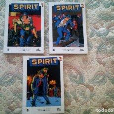 Tebeos: SPIRIT, DE WILL EISNER 1, 2 Y 3 (COMPLETA)(GRANDES HEROES DEL COMIC EL MUNDO Nº 29, 30 Y 31). Lote 63188288