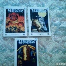 Tebeos: LOS 4 FANTASTICOS 1, 2 Y 3 (COMPLETA), DE STAN LEE Y JACK KIRBY (GRANDES HEROES DEL COMIC EL MUNDO). Lote 63188368