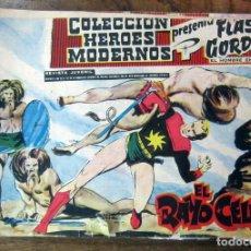 Tebeos: FLASH GORDON Y EL HOMBRE ENMASCARADO, HEROES MODERNOS SERIE 0, 30 EJEMP. - DOLAR, 1959 - COMPLETA. Lote 63247952