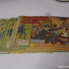 Tebeos: EL MOSQUETERO AZUL - EDITORIAL BRUGUERA 1962 - DEL 1 AL 20 - . Lote 64800395