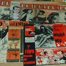 Tebeos: EL PITO - LOTE DE 15 EJEMPLARES - 1967- BUENÍSIMOS - DESCRIPCIÓN Y FOTOS. Lote 65745354