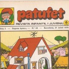 Tebeos: PATUFET - ANY 3 - SEGONA ÈPOCA ANY 1970 N 44. Lote 66493494