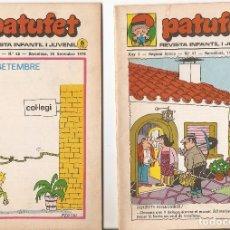 Tebeos: PATUFET - ANY 3 - SEGONA ÈPOCA ANY 1970 N 47 - 48. Lote 66493666